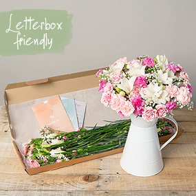 letterbox flowers bunches